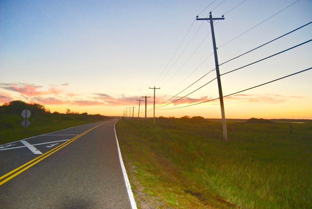 sunset poles hamptons